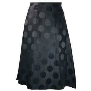 H&M Polka Dot A-Line Skirt